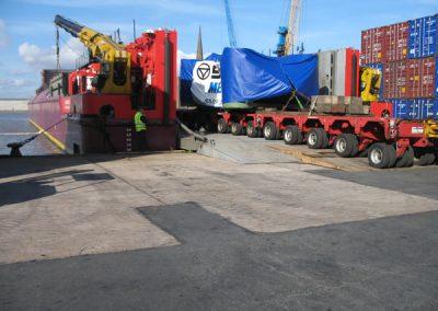 Loading at Goole