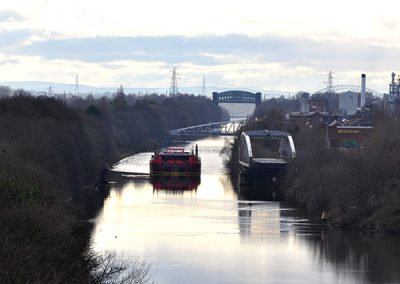 Manchester Ship Canal & Offload at Carrington