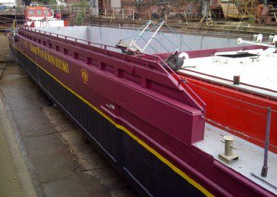 Vessels in Dry Dock
