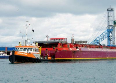 Mobile Harbour Crane arrives in Guernsey