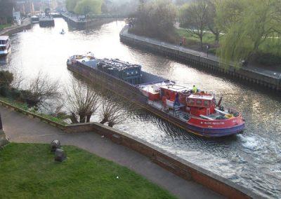 Navigating the Trent to Staythorpe