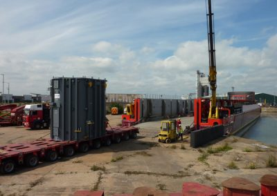 Offload at Torness and Lowestoft