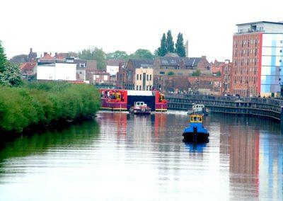 Navigating the Trent to Cottam